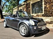 2006 Mini Cabrio R52 MY05 Cooper Black 5 Speed Manual Convertible Medindie Walkerville Area Preview