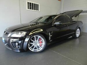 2008 Holden Special Vehicles Maloo E Series MY08 Upgrade R8 Black 6 Speed Manual Utility Woodridge Logan Area Preview