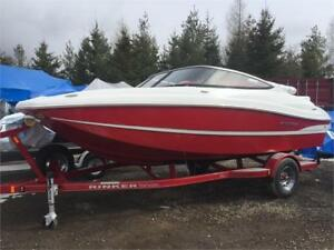 Smooth Riding Rinker MTX 200 BowRider