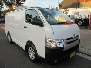 2016 Toyota Hiace TRH201R White 5 Speed Manual Van Croydon Burwood Area Preview