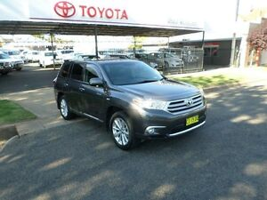 2013 Toyota Kluger GSU40R MY12 Grande 2WD Graphite 5 Speed Sports Automatic Wagon Burrangong Young Area Preview