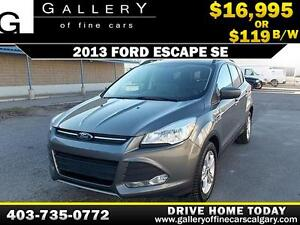 2013 Ford Escape SE $119 bi-weekly APPLY NOW DRIVE NOW