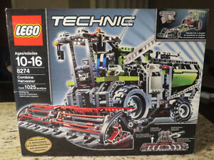 Lego Technic 8274 Combine Harvester -new in sealed box Strathcona County Edmonton Area image 1