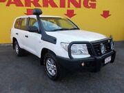 2014 Toyota Landcruiser VDJ200R MY13 GX White 6 Speed Sports Automatic Wagon Winnellie Darwin City Preview