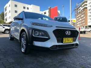 2018 Hyundai Kona OS Active (FWD) White 6 Speed Automatic Wagon North Strathfield Canada Bay Area Preview