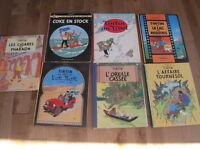 7 Tintin 25$ ou echange contre 7 Astérix