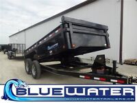 2015 Load Trail LOW-PRO Dump 83 x 14!! WITH SCISSOR LIFT!!!