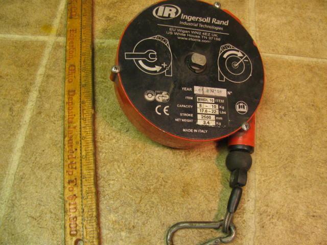 Ingersoll Rand BMDL10 Tool Balancer Assembly Work