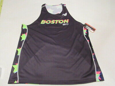 New Balance Singlet - NWT 2017 BOSTON MARATHON NEW BALANCE ACHIEVE SINGLET SIZE XL TANK TOP MENS