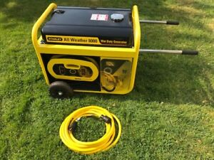 STANLEY 8000W All Weather Electric Start Generator