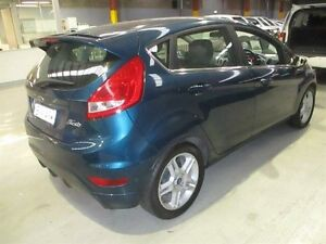 2011 Ford Fiesta WT Zetec PwrShift Blue 6 Speed Sports Automatic Dual Clutch Hatchback Maryville Newcastle Area Preview