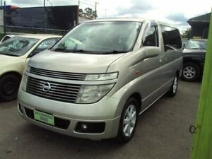 2003 Nissan Elgrand E51 Silver Automatic Mini Bus Punchbowl Canterbury Area Preview