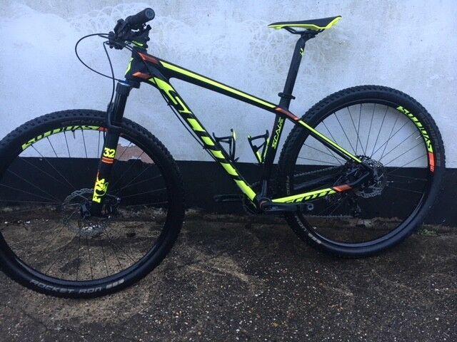 2017 Scott Scale 930 Carbon Mountain bike Medium