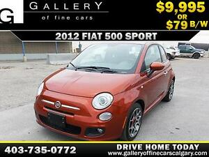 2012 Fiat 500 Sport $79 bi-weekly APPLY NOW DRIVE NOW