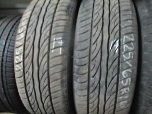 225/65R16 USED 2 ONLY USED SAILUN A/S TIRES