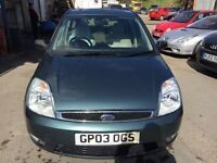2003 Ford Fiesta, starts and drives well, MOT until 4th October, car located in Gravesend Kent, any
