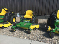 JOHN DEERE LAWN TRACTOR, ZERO TURN AND COMMERCIAL CLEARANCE SALE
