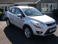 Ford Kuga 2.0 TDCI Zetec 4WD/4X4/Four Wheel Drive, Very Low Mileage, Full Service History