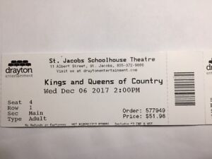 Kings & Queens of Country Music St. Jacobs Schoolhouse