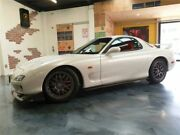 2001 Mazda RX7 RZ White Manual Coupe Perth Perth City Area Preview