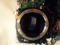 Canon 5Ds / 5DsR parts - sensor, mirror box, shutter, top cover, etc.