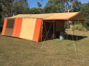Great Outdoors Mediterranean Tent with Custom Fly