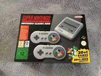 Snes mini classic brand new unopened