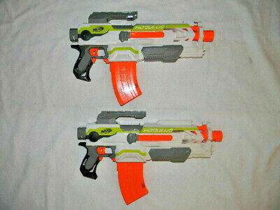 2X Nerf Modulus ECS-10 Blasters Only Great For Modification