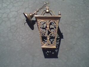 Antique Heavy Bronze / Brass Ceiling Fixture