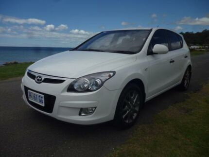 2012 Hyundai i30 FD MY12 Trophy White 4 Speed Automatic Hatchback Cooee Burnie Area Preview