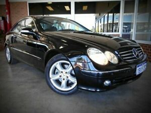 2005 Mercedes-Benz CLK200K C209 Avantgarde Black 5 Speed Auto Touchshift Coupe