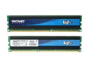 Patriot Gamer 2 Series 8GB (2 x 4GB) 240-Pin DDR3  RAM STICK