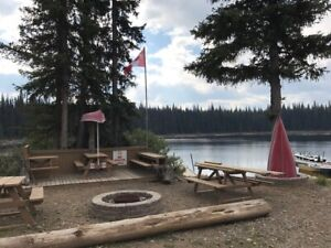 Seasonal Wilderness Camping Sites available at Dominic Lake