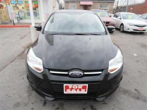 2013 Ford Focus Auto Black Only 79,000km