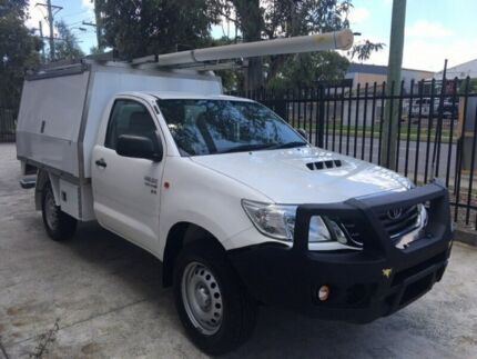 Toyota Hilux SR ex-Telstra Diesel 4x4 2014 with XL service body located at NSW-Mid North Coast Macksville Nambucca Area Preview