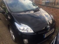 TOYOTA PRIUS HYBRID 1.8 T SPIRIT, BLACK, 1 PREVIOUS OWNER, ZERO ROAD TAX, COMES WITH ONE YEAR MOT