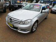 2012 Mercedes-Benz C200 CDI W204 MY12 BlueEFFICIENCY Estate 7G-Tronic + Silver 7 Speed Minchinbury Blacktown Area Preview