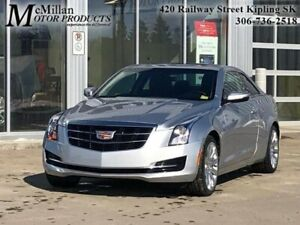 2017 Cadillac ATS Coupe 2.0 Turbo  ALL WHEEL DRIVE,COUPE,2.01L
