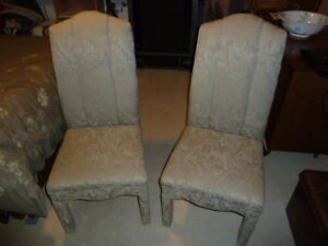 2 dining/ occasional chairs
