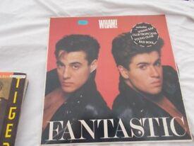Vinyl LP Fantastic – Wham! Epic 25328 Stereo 1981