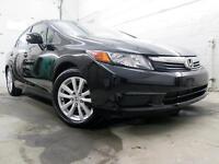 2012 Honda Civic EX NOIR TOIT OUVRANT MAGS AUTOM. A/C 23,000KM