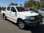 2012 Toyota Hilux KUN26R MY12 SR Double Cab White 5 Speed Manual Utility Bunbury Bunbury Area Preview