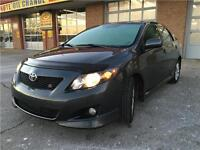 2009 Toyota Corolla S, Accident Free, Sunroof, Loaded !!