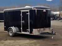 Brand new Cargomate Blazer 6 x 12 enclosed cargo trailer
