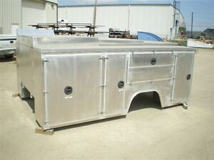 Aluminum Mechanic's Service Body