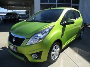 2012 Holden Barina Spark  Green Manual Ayr Burdekin Area Preview