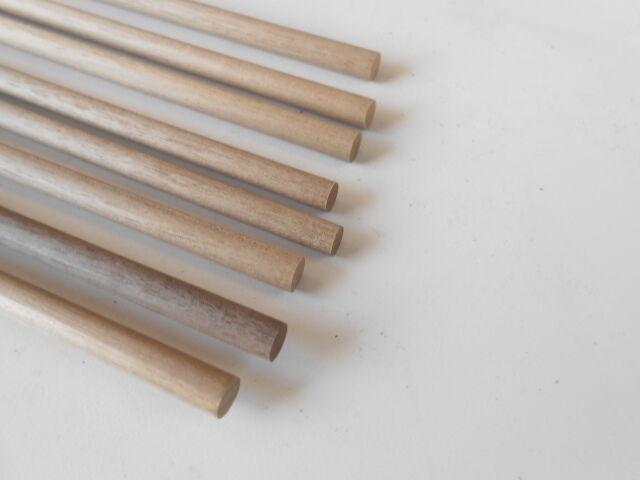 Tondino Noce diametro mm 10 x 1000 accessori modellismo