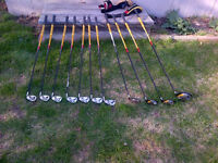Full set of Taylor Made R7 Right Hand Golf clubs