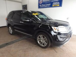 2017 Ford Explorer Limited 4x4 LEATHER NAVI SUNROOF