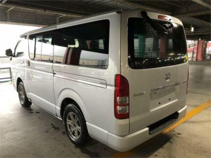 2013 Toyota Hiace 4WD LWB Dual door window van Silver Automatic Van Concord Canada Bay Area Preview